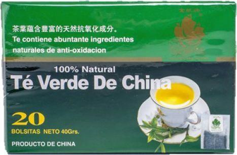 423 Ft - Golden Sail kínai zöld tea filteres tea 20db..
