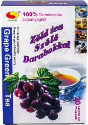 0 Ft - Megszünöö - Sun Moon zöld tea (filteres) szőlő..