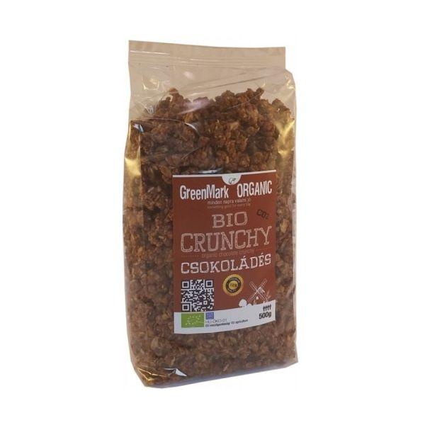 0 Ft - GreenMark bio csokoládés crunchy alap 500g..